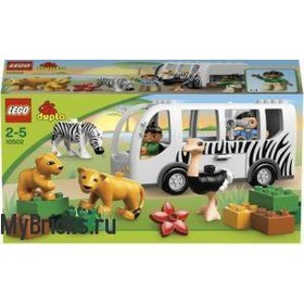 Lego Duplo 10502 Safari Bus (Зоо Автобус) 2013